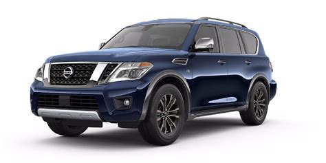 What Colors Does The New 2018 Nissan Armada Come In?