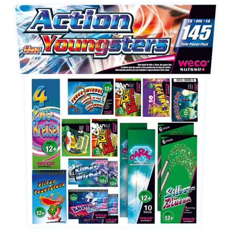 action  youngsters kleinfeuerwerk shop weco suisse  shop