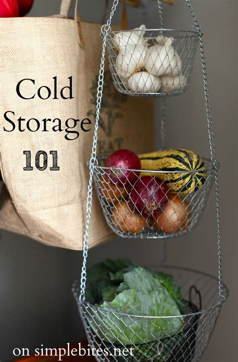tips  cold storage  home