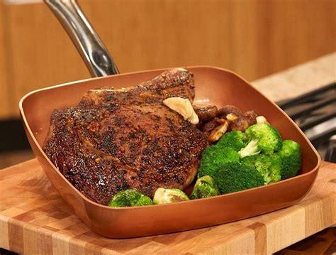 copper chef pan  red copper     cookware