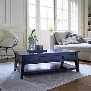 Black mahogany coffee tables - Thaki black coffee tables