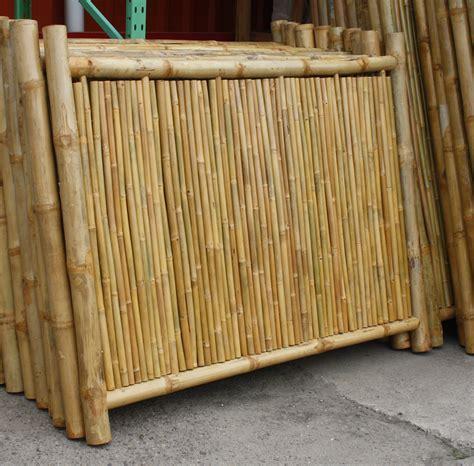 Sichtschutz Garten Bambuszaun by Ideen Bambuszaun Sichtschutz As Balkon Sichtschutz