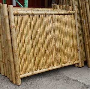 Garten Sichtschutz Bambus : bambus sichtschutzelement bambuszaun 180 x 140 ~ A.2002-acura-tl-radio.info Haus und Dekorationen