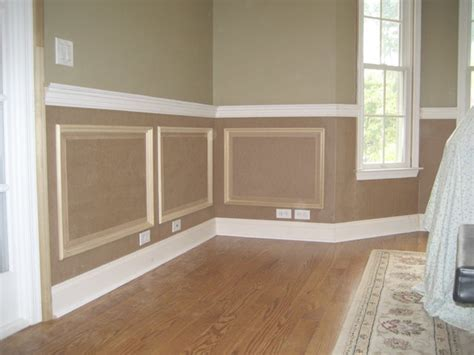 How To Install Raised Panel Wainscoting by Raised Panel Wainscoting Traditional New York By Jl