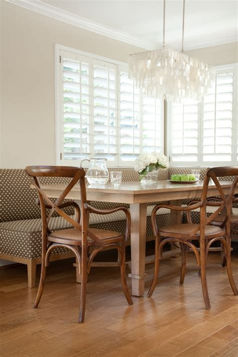 Glamorous Banquettes San Francisco Traditional Dining Room