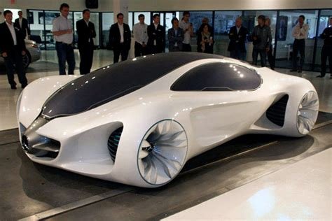 mercedes benz biome concept car grows in a nursery on