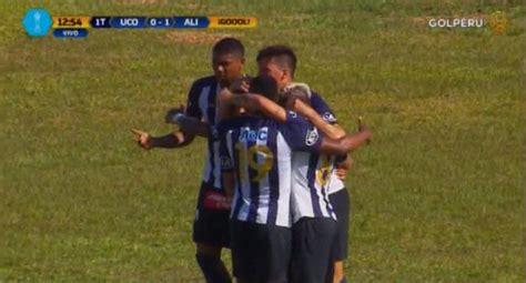 Alianza Lima vs. Unión Comercio: gol de Mauricio Affonso ...