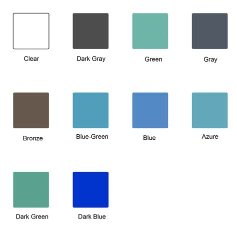 color glass tinted colors for glass glass malaysia glass