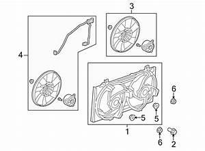 Chevrolet Camaro Engine Cooling Fan Shroud Bolt  3 6 Liter