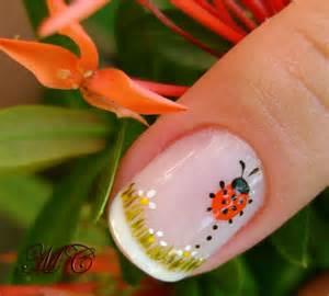 Nails on short newspaper and nail art