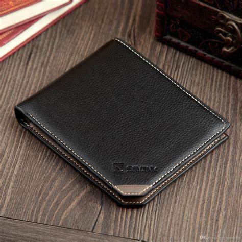 unique fashion  wallets mens genuine leather