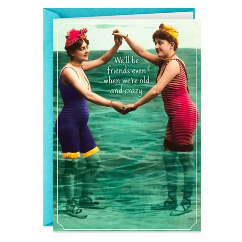 crazy friends funny birthday card greeting cards