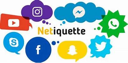 Netiquette Internet Clipart Rules Etiquette Internetu Social