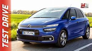 Citroën C4 Spacetourer Live : new citroen c4 spacetourer 2018 first test drive youtube ~ Medecine-chirurgie-esthetiques.com Avis de Voitures