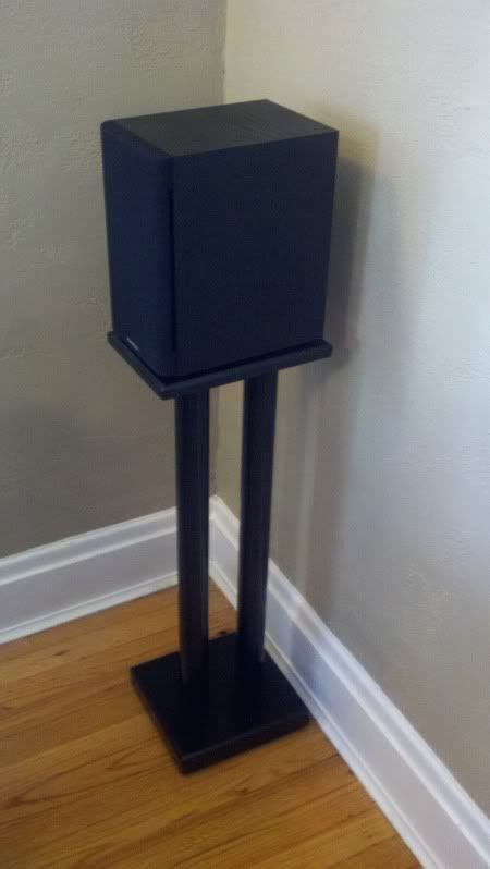 25 best ideas about speaker stands on pinterest