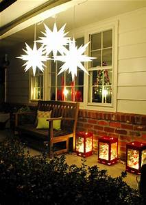 Decorating The Outside Our House For Christmas
