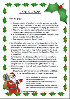 christmas ornament poem exchange game the world s catalog of ideas