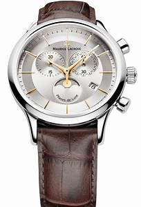 Maurice Lacroix Watch Les Classique Gents Moonphase Chrono LC1148 SS001 132 Watch