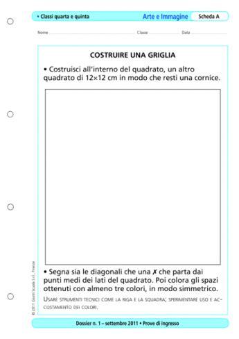 Arte E Immagine Scuola Media Test Ingresso Prove D Ingresso Arte E Immagine Classi 4 E 5 La Vita