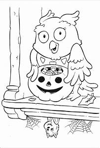 Ausmalbilder Halloween Kostenlos Malvorlagen Zum