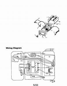 Die Hard Battery Charger Model 200 71222 Wiring Diagram