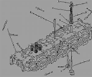 7w2203 Cylinder Head Group - Engine