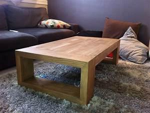 Table Basse Bois Brut Table Basse De Salon Design