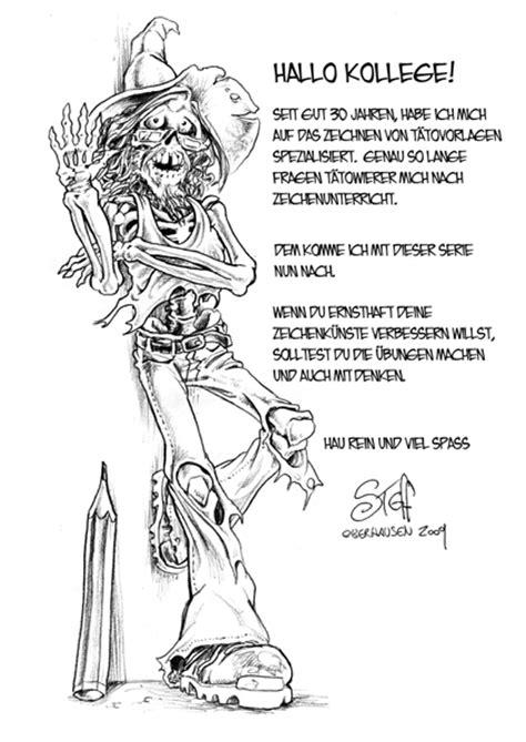 Tattoo-Vorlagen zeichnen lernen mit Steff Murschetz