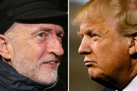 trump donald left bernie corbyn wing jeremy politicians sanders british