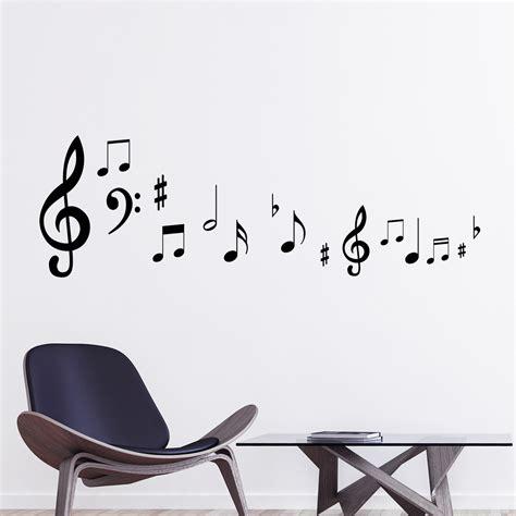 note de musique stickers mural musique