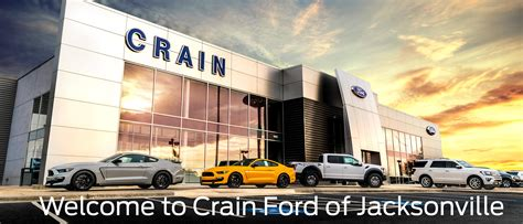 Crain Ford in Jacksonville Is One of the Leading Ford