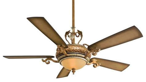 napoli  blade  light ceiling fan  tuscan patina blades