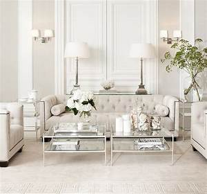 Eichholtz living room transitional with beige interiors