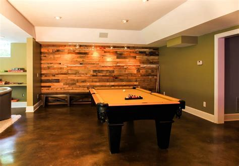 industrial track lighting Basement Contemporary with man