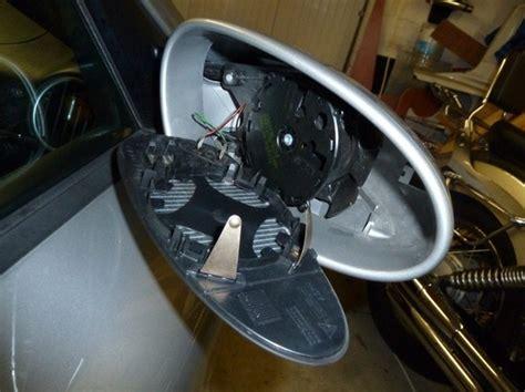 demontage du miroir de retroviseur porsche legend