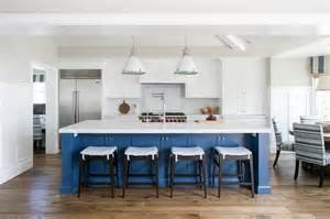 blue kitchen island blue center island with ralph fulton pendants