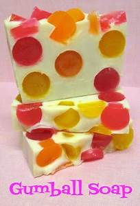 I'd Lather Be Soaping: Gumball Soap