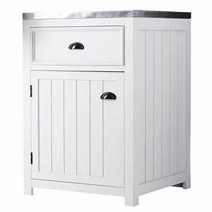 meuble blanc de cuisine cuisine couleur ivoire classique With meuble bar moderne design 1 meuble de bar en bois blanc sur roulettes biarritz