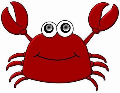 Crab Cartoon Clipart Drawing Arm Clip Transparent