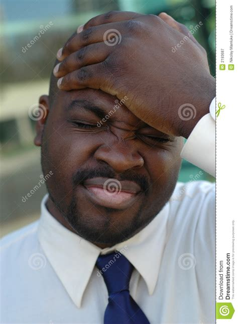 man slapping  head stock image image  overwhelmed