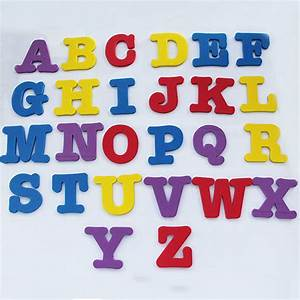 eva magnetic letters alphabet fridge magnet educational With magnetic alphabet letters and numbers for fridge