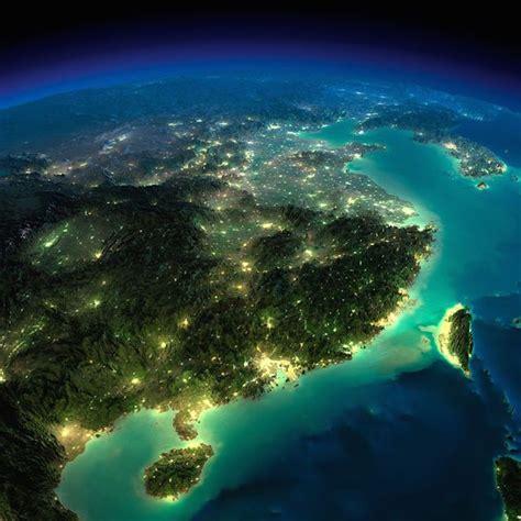 gambar bumi waktu malam  angkasa  difoto nasa