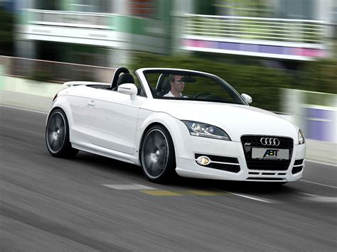 Audi Roadster Abt Sportsline Top Speed
