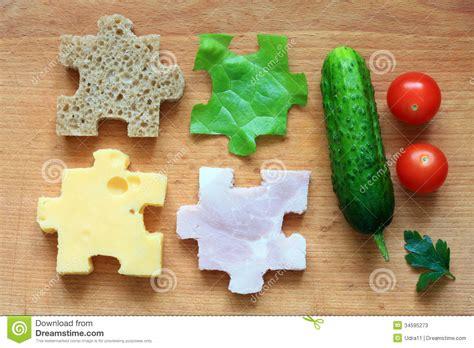 puzzle cuisine food puzzle ingredients diet creative concept stock photos