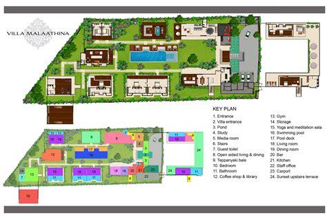 house with 4 bedrooms floor plan villa malaathina luxury umalas bali villa