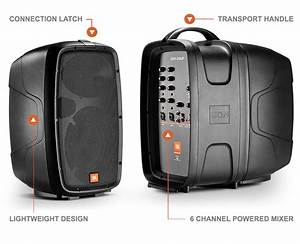 Jbl Sound System : jbl eon206p portable 6 5 2 way speaker system with ~ Kayakingforconservation.com Haus und Dekorationen