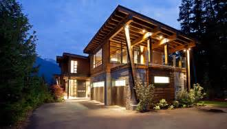 Canadian Custom Cabins Inspiration by Luxury House With A Modern Contemporary Interior Digsdigs