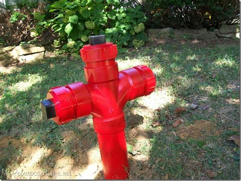 diy fire hydrant  repurposed life