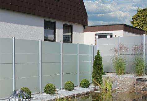 Zaun Aus Glas by Sichtschutz Z 228 Une Aus Glas Zaunteam Z 228 Une Und Tore