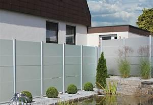 sichtschutz zaune aus glas von zaunteam zaune und tore With garten planen mit balkon sichtschutz pvc befestigen